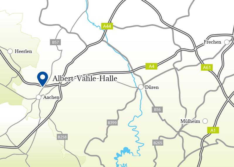 Tour 2018 – Aufbruchstimmung 12.08.2018 CHIO Aachen/Albert-Vahle Chio Map on